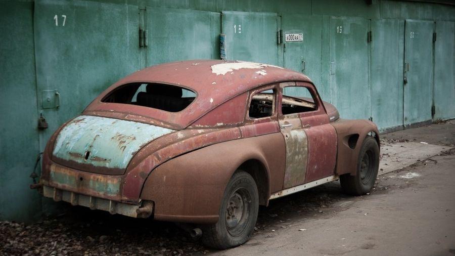 Кастом ГАЗ М20 «Победа» на базе Chevrolet Caprice, который так и не был завершен