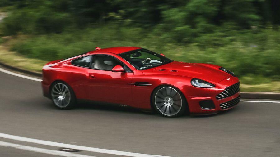 Бывший дизайнер Jaguar «исправил» Aston Martin Vanquish