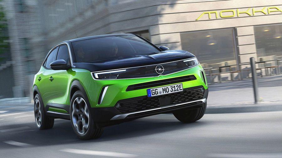 Новый Opel Mokka дебютировал с новый стайлингом и электроприводом