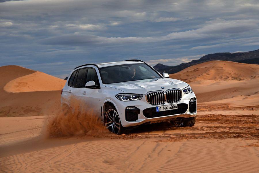 Лучшие авто для путешествий. BMW X5