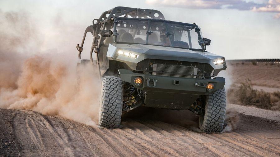 Американская армия заказала 650 военных пикапов на базе Chevrolet Colorado ZR2