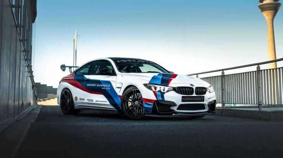 Manhart показал MH4 GTR, основанный на очень редком BMW M4 DTM Champion Edition