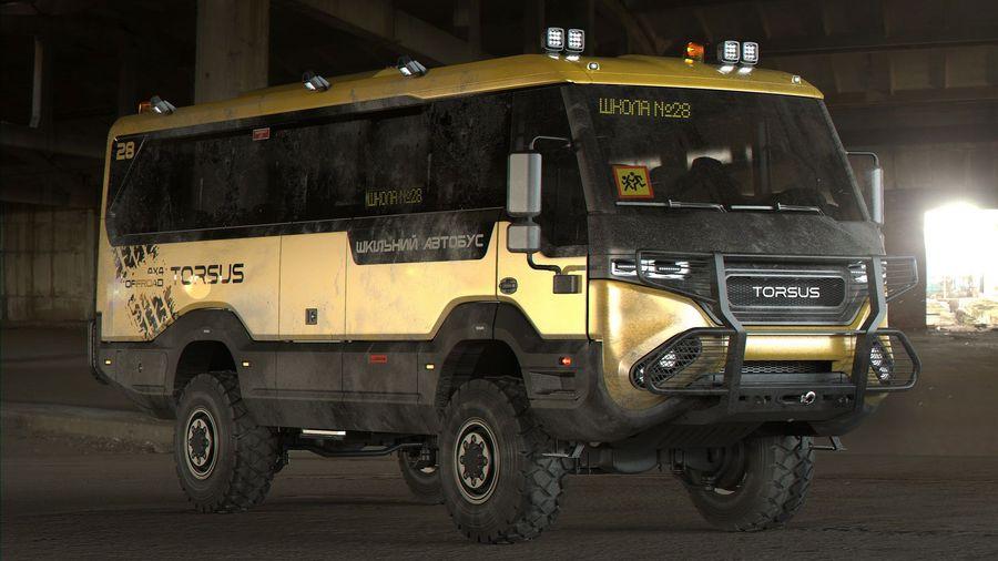 Torus разработал самый крутой школьный автобус в мире