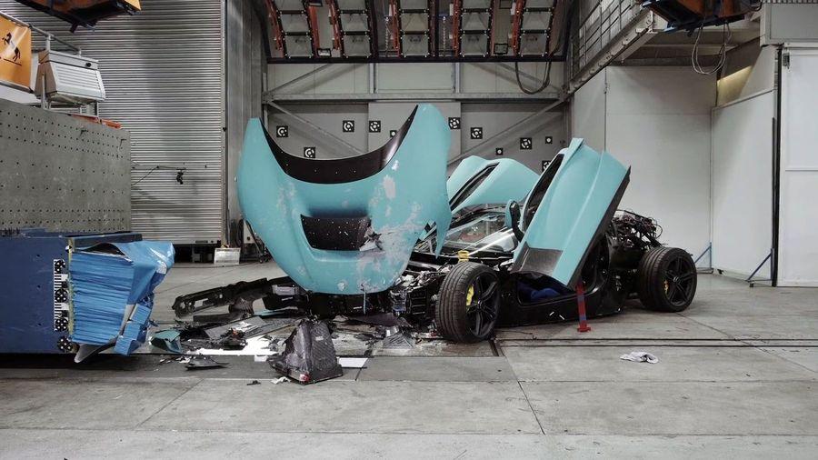 Как же больно смотреть на краш-тесты гиперкара Rimac C_Two стоимостью 1 миллион долларов