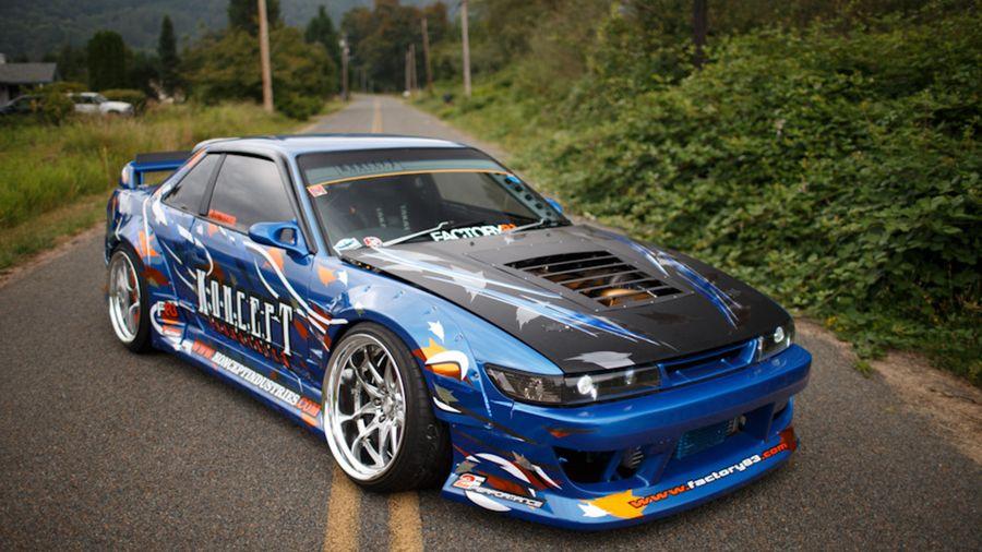 Зачетная Silvia S13 от парней из канадской фирмы Koncept Industries