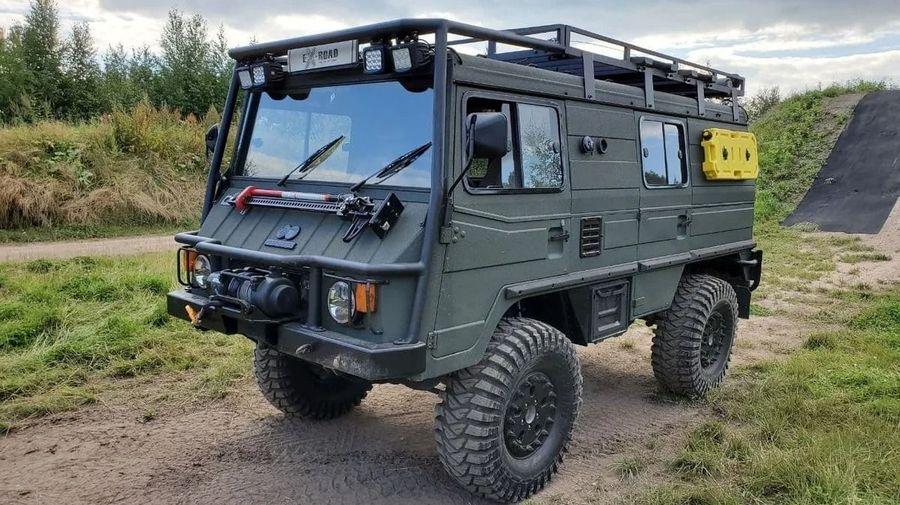 В Москве продают австрийский военный внедорожник Puch Pinzgauer 710K за 6 миллионов рублей