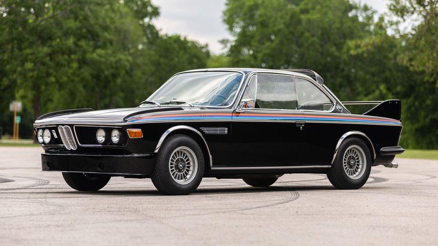 Великолепный BMW 3.0 CSL вызовет приступ зависти у каждого фаната марки