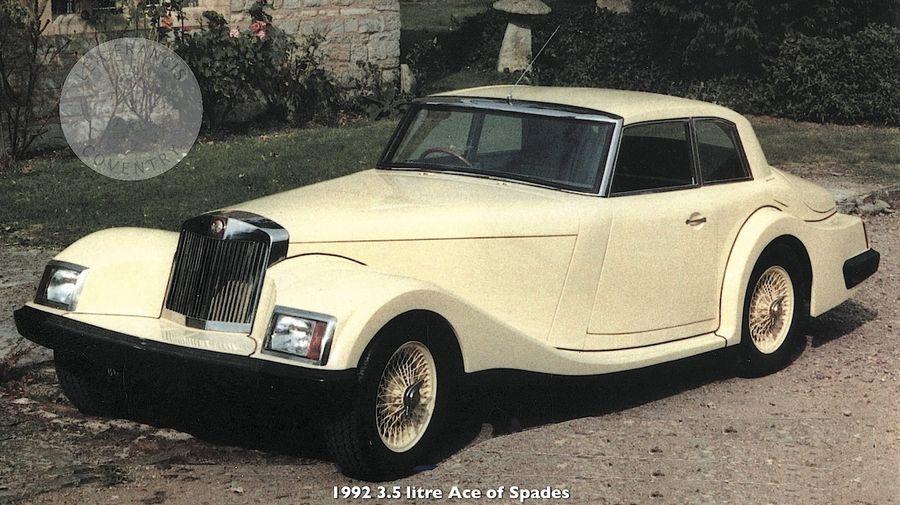 Lea-Francis 3.5 Litre Ace-of-Spades — странная попытка возродить марку начала XX века