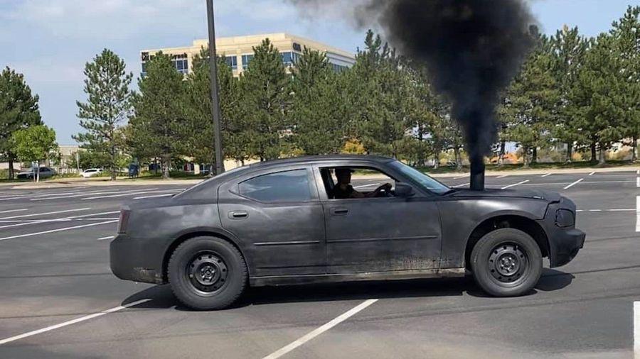 Dodge Charger с турбодизелем Cummins способен устроить экологическую катастрофу в Сызрани