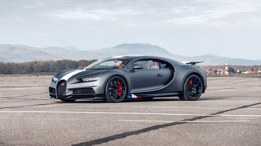 Bugatti решила вспомнить летчиков начала XX века в новой «авиационной» серии Chiron