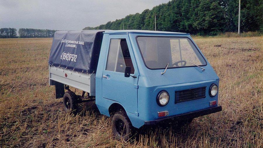 Сельскохозяйственный мини-грузовик из Мордовии с двигателем от «ИЖ-Юпитер-5»