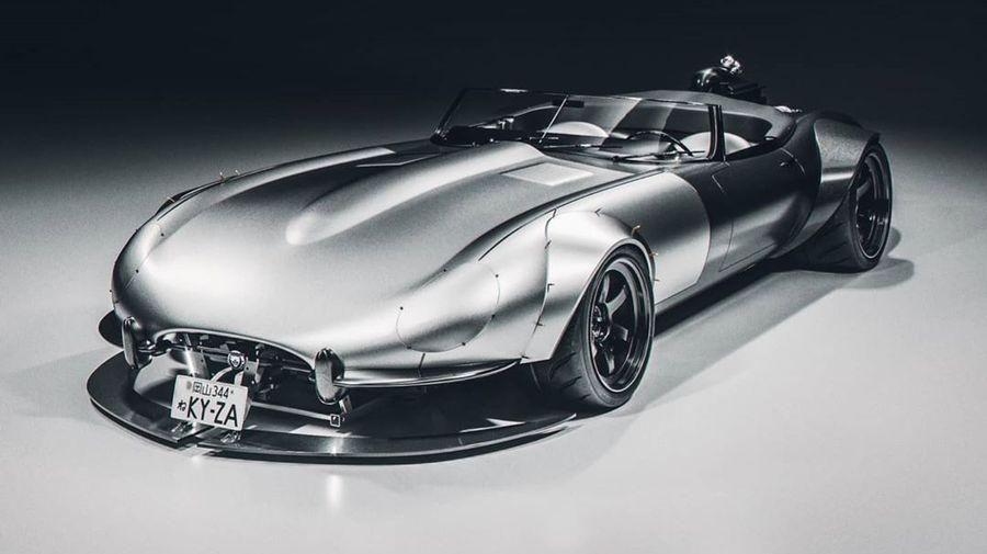 Это один из самых безумных и крутых проектов на базе Jaguar E-Type