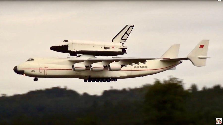 Посмотрите на запуск «Бурана» с самолета Ан-225 в масштабе 1:25