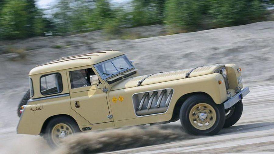 Самый необычный Land Rover — единственный в своём роде Bell Aurens Longnose с очень длинным капотом