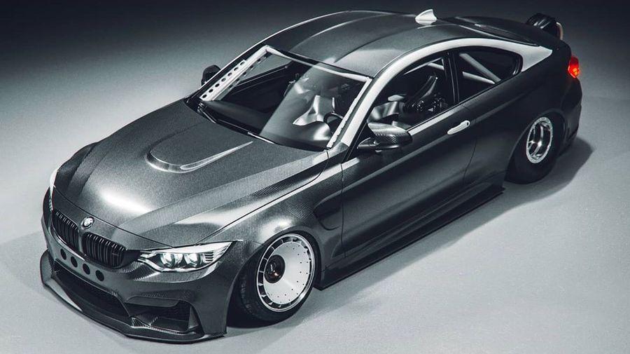 Правильный BMW M4 должен быть таким: с карбоновым кузовом и роторным двигателем