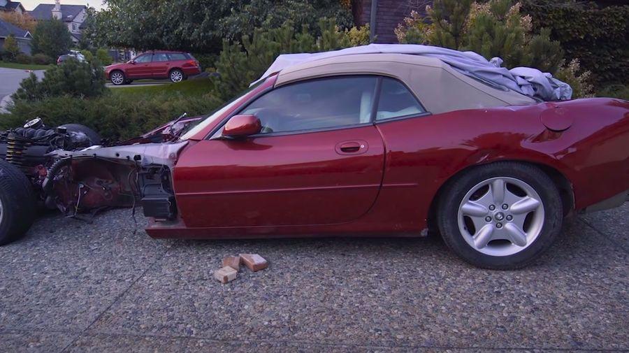 Так выглядит самый дешевый Jaguar XK8 в России