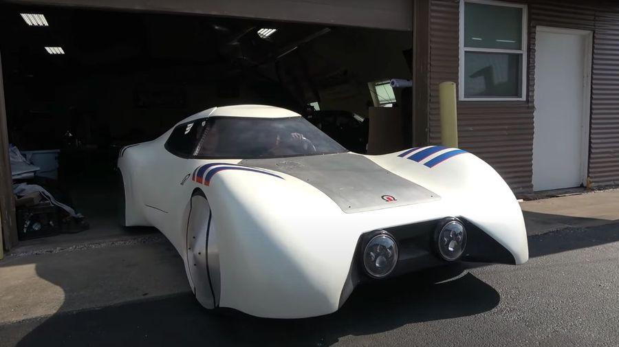 Концепт Omega Car расходует 2,35 л/100 км и способен обогнать Dodge Viper. Наверное...