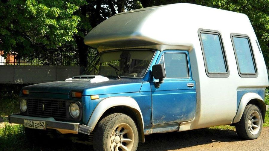 Необычный прототип «Нивы» с просторным кузовом, о котором все забыли