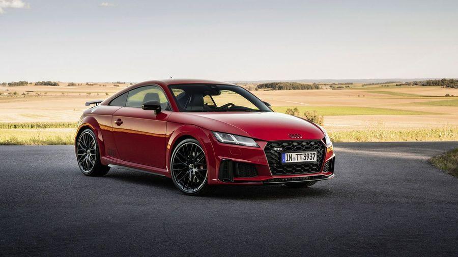 Audi TTS обзавелась спецверсией competition plus