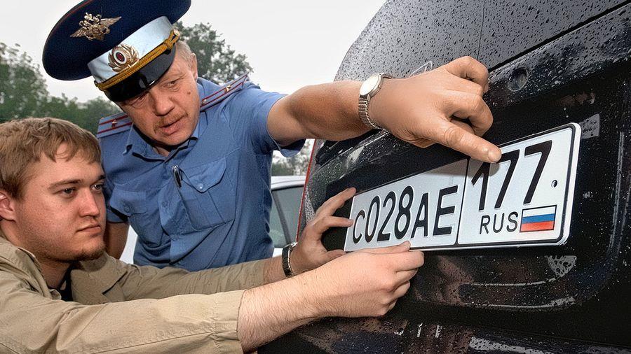История автомобильного номера в России: от самого первого до наших дней