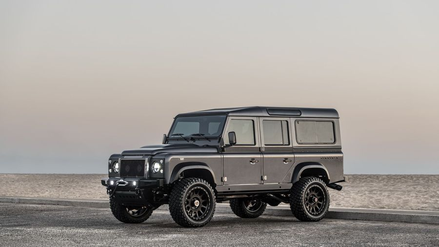 Тюнер Himalaya сделал 650-сильный Land Rover Defender стоимостью 23,5 миллиона рублей