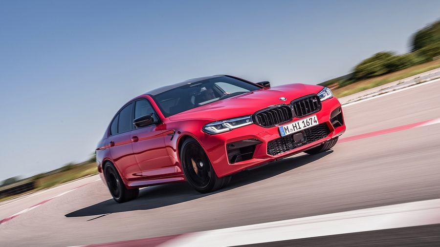 BMW M5 и M5 Competition обновились вслед за седанами 5-серии