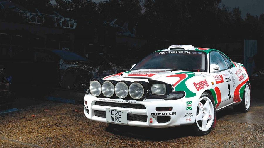 In his Sainz - Toyota Celica Rally