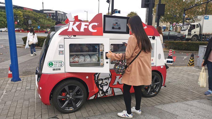 Эти автономные капсулы от KFC — то что может спасти 2020 год