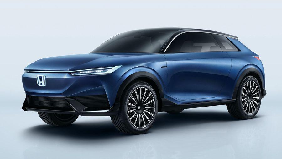 Honda покажет в Пекине будущий электрический кроссовер в виде концепта SUV e:concept