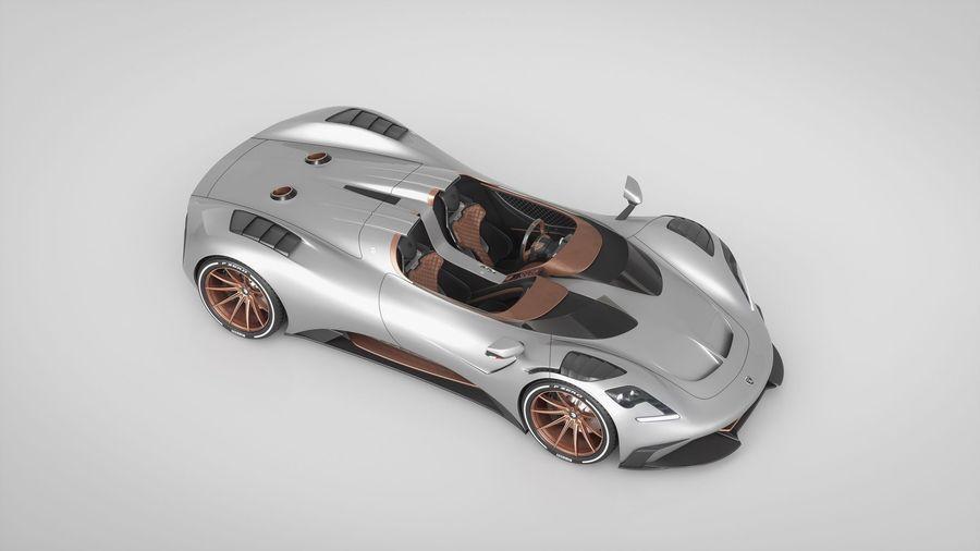 Ares Design показал открытую версию своего суперкара S1 Project