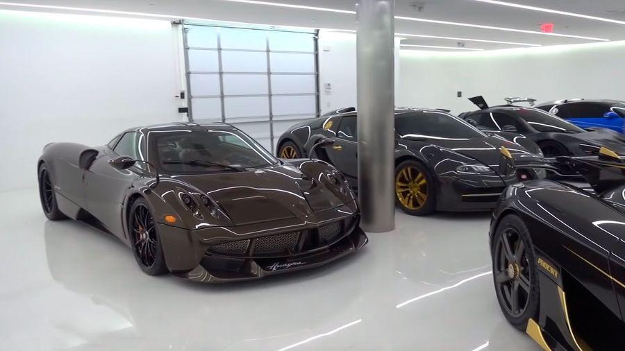 Так выглядит коллекция суперкаров американского мультимиллионера Мэнни Кошибина