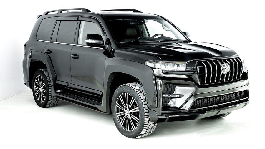 Российское тюнинг-ателье добавило спортивности внешности Toyota Land Cruiser 200