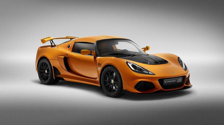 Lotus ностальгирует с особой версией Exige Sport 410 20th Anniversary Edition