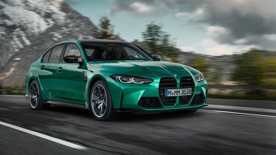 Фотографии новых BMW M3 и M4 утекли в Сеть до официального дебюта
