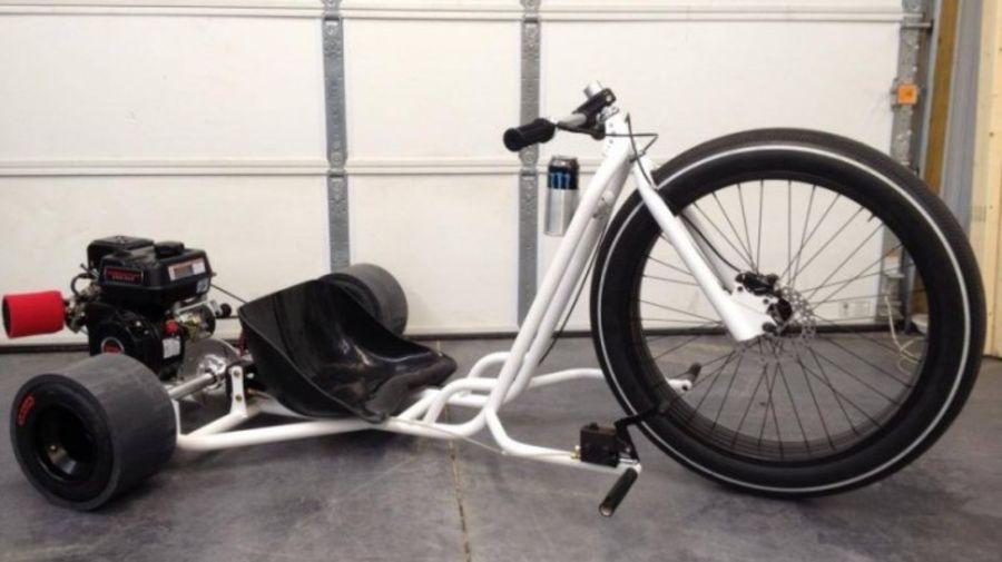 Велосипед для дрифта - трайк Big Wheel Drift Trike