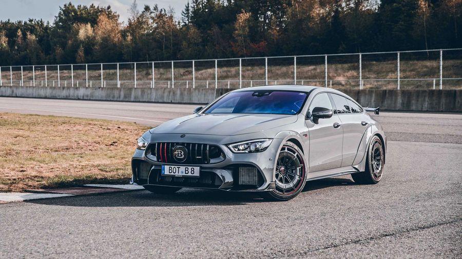 Brabus выпустит 10 экземпляров 888-сильного Rocket 900 на базе Mercedes-AMG GT 63 S