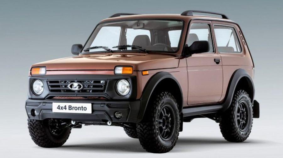 АвтоВАЗ показал экстремальную версию Лада 4х4 Бронто с мускулистым обвесом