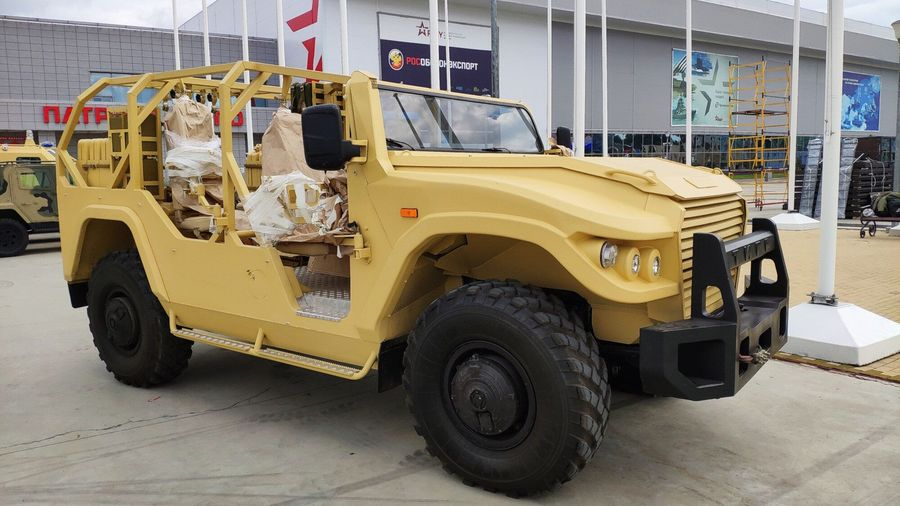 Бронеавтомобиль «Тигр» получил открытую версию «Сафари»