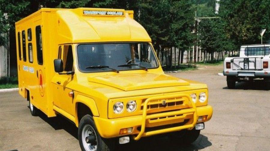 ARO 429 TC — один из самых нелепых школьных автобусов в мире