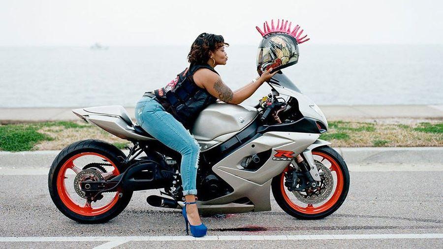 Caramel Curves — самый необычный мотоклуб, куда принимают только чернокожих женщин