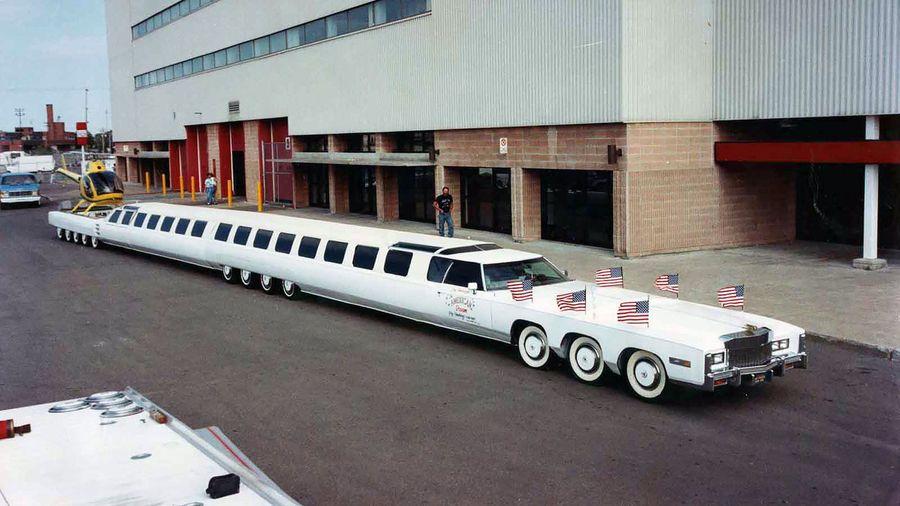 9 самых безумных лимузинов от американской компании Jay Ohrberg Show Cars