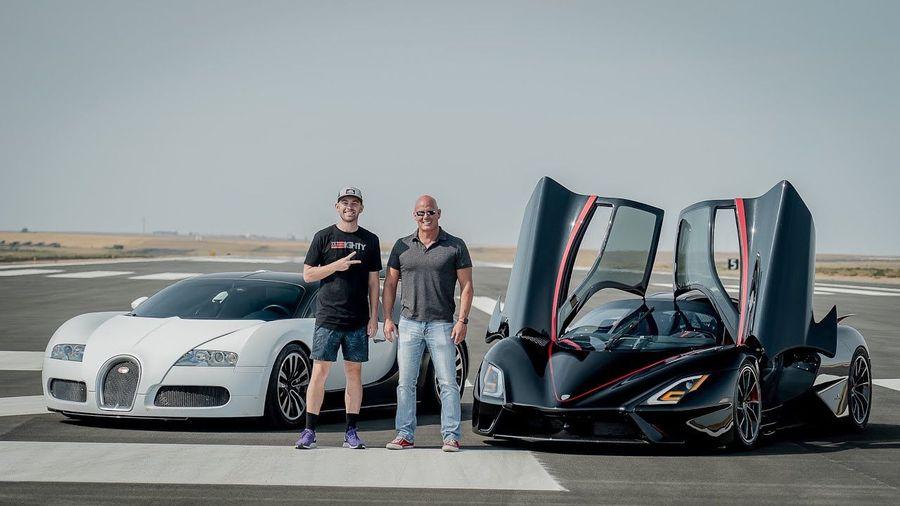 Вы удивитесь, насколько легко SSC Tuatara разделывается с Bugatti Veyron