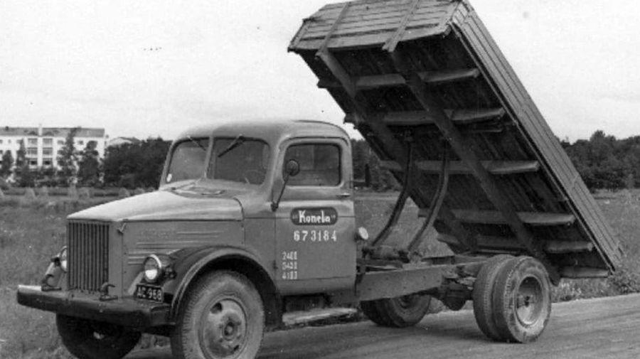 Посмотрите на советский ГАЗ 51В с необычной кабиной от финского импортера Konela