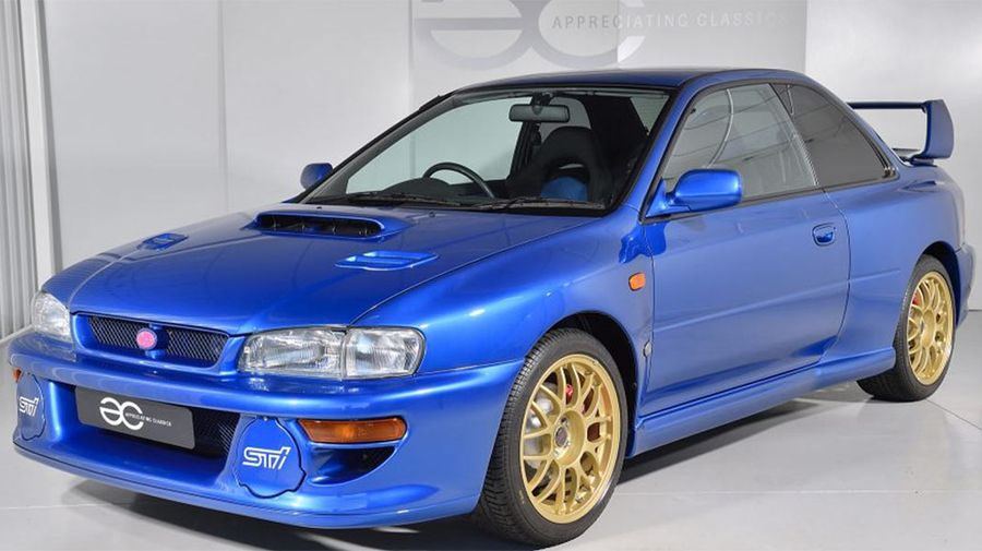 Самый дорогой Subaru! За редкий Impreza 22B STi просят более 26 млн рублей
