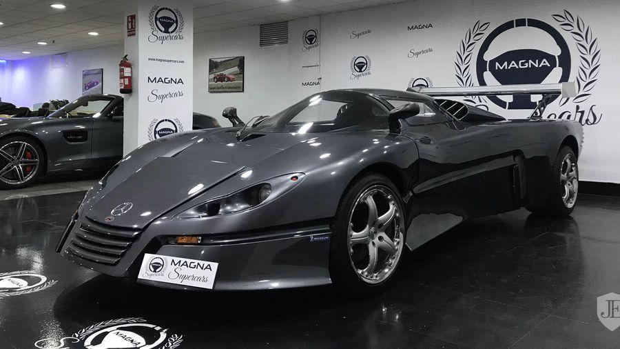 Уникальный Sbarro Espace GT1 на базе CLK GTR выставили на продажу в Испании