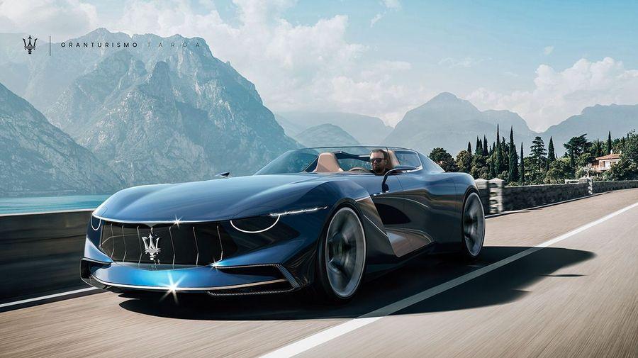 Maserati GranTurismo Targa позволяет всем увидеть содержимое своего багажника