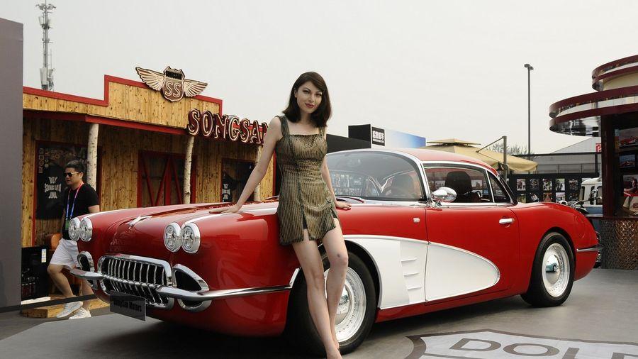 SS Dolphin — это китайская реплика Chevrolet Corvette C1 с гибридной силовой установкой