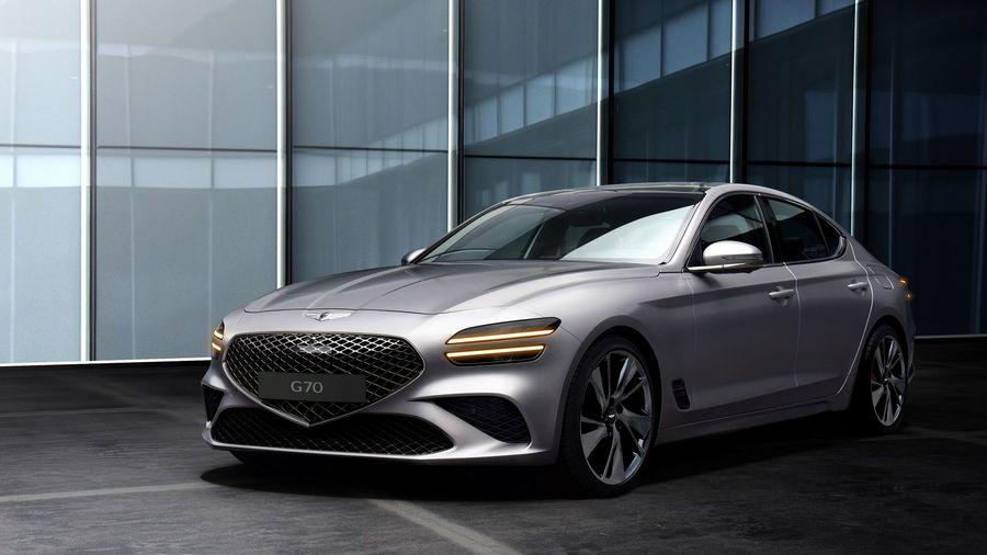 Обновленный Genesis G70 выглядит так, как вы этого ожидаете