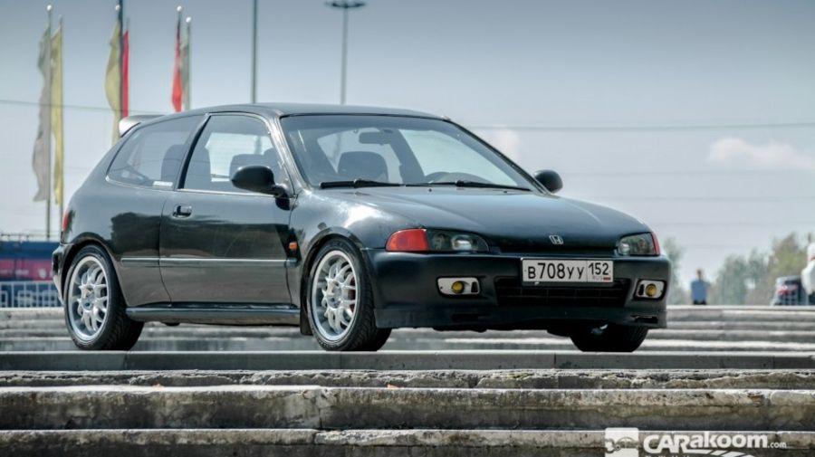 The World's famous cars #2 - Honda Civic EG
