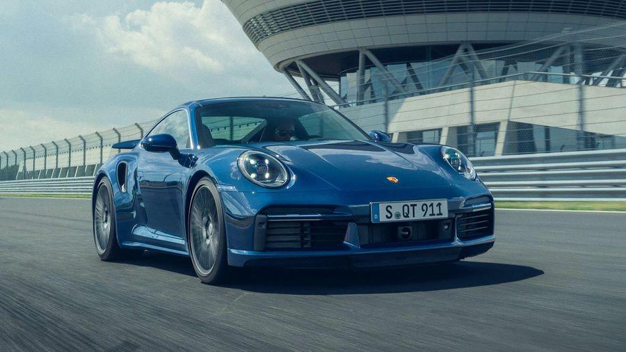 Новый Porsche 911 Turbo выстреливает до «сотни» за 2,8 секунды